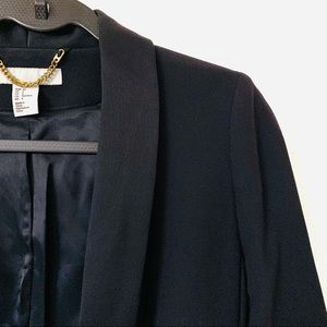 H&M Jackets & Coats - H&M Navy Blue Tuxedo Jacket